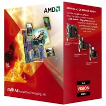 Процессор AMD  A6 5400K (3.6GHz x2, 1Mb, HD7540D, 65W) Soc-FM2 [AD540KOKA23HJ] OEM