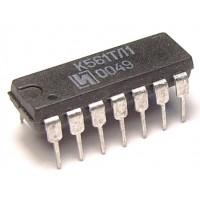 Микросхема К561ТЛ1 (TC4093BP)