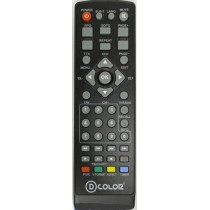 Пульт ДУ D-COLOR DVB-T2 (ELECTRONICS,KASKAD,LOREM)