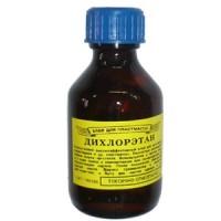 Дихлорэтан 40гр. (30мл, клей для пластмассы)