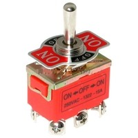 Тумблер 6 PIN (ON-OFF-ON) 250V 15A RWC-508_NFN
