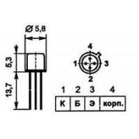 Транзистор ГТ346А
