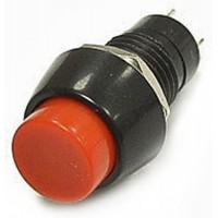 Выключатель кнопочный RWD-208AF ON-OFF 250V/1A круглый с фиксацией, диаметр 18мм