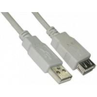 Шнур штекер USB AM - гнездо AF удлинитель 1,8м APH-451-1.8